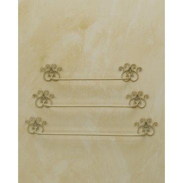 Mobiletti in ferro battuto arredamento accessori e mobili in ferro battuto con forgiatura - Accessori bagno in ferro battuto ...